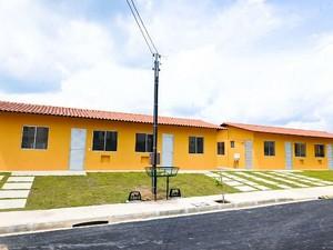Famílias com filhos com residência fixa em Manaus há, no mínimo, três anos podem ter direito de financiar um imóvel pelo programa federal (Foto: Divulgação/Suhab)