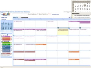 Google Calendar Viewer
