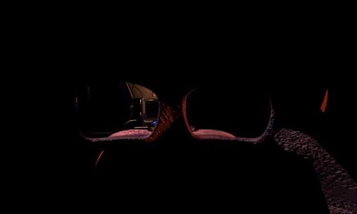 Máscara permite se esconder de alguns bonecos macabros (Foto: Divulgação)