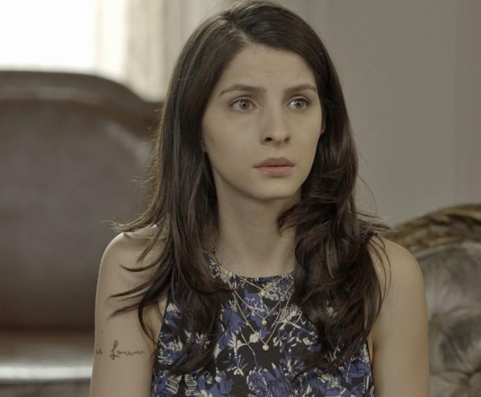 Duda fica triste ao ver Úrsula surtar (Foto: TV Globo)
