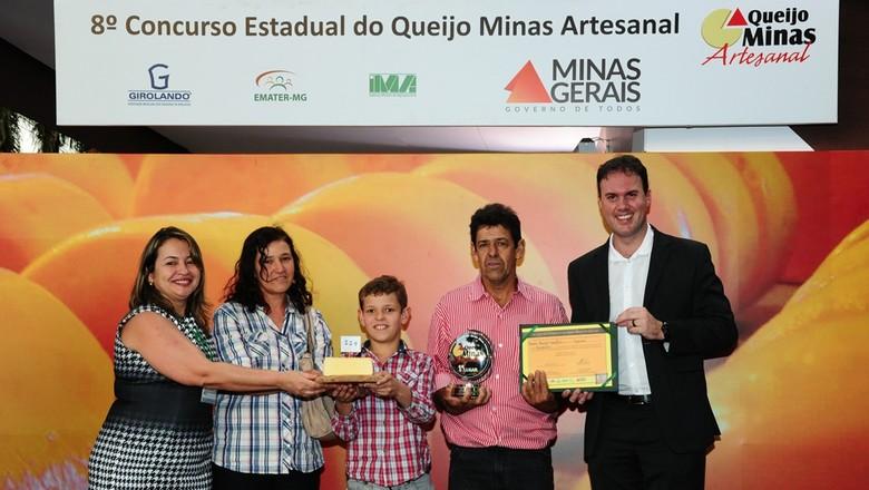 vencedor-concurso-queijo-minas (Foto: Divulgação/Emater-MG)