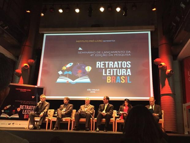4ª edição da pesquisa foi divulgada pelo IPL em São Paulo (Foto: Mariana Nogueira/G1)
