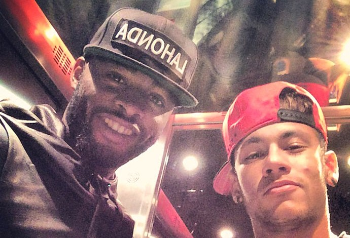 Song e Neymar instagram (Foto: Reprodução / Instagram)