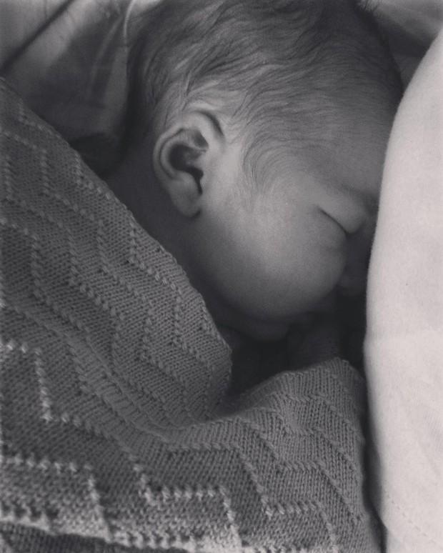 Filho de Carolina Kasting (Foto: Instagram / Reprodução)