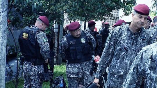 Força Nacional de Segurança recebe apoio de 102 agentes em Porto Alegre