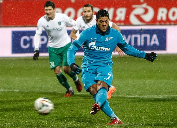 Hulk, Zenit x Terek Grozny (Foto: Getty Images)