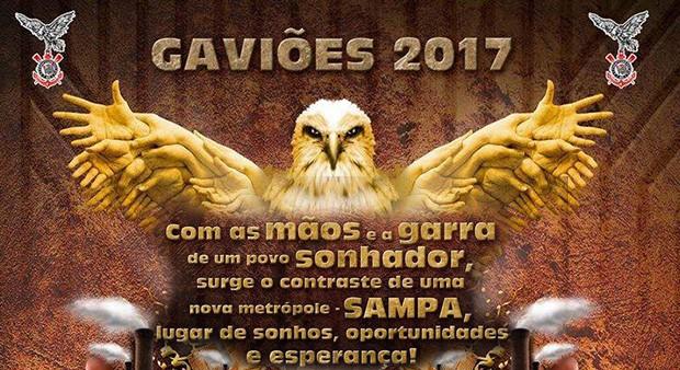 Gaviões da Fiel (Foto: Reprodução/Facebook)