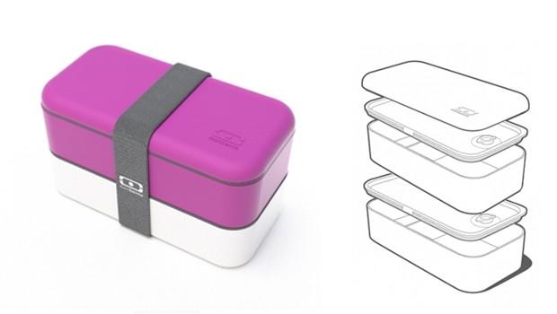 MB Original (Monbento original) (R$ 185,00), da Bento Store | É composta por dois recipientes fechados por uma grande cinta elástica (Foto: Divulgação)