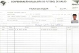 Philippe coutinho Ficha Futsal