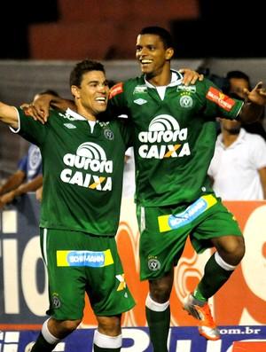 Bruno rangel chapecoense gol sport Série B (Foto: Aldo Carneiro / Agência Estado)