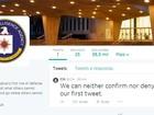 CIA cria perfis no Facebook e no Twitter, e faz piada no primeiro post