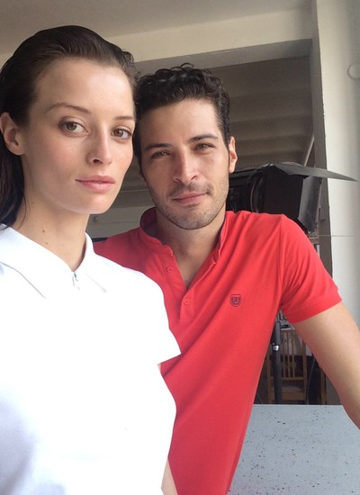 Flávia Lucini e Leandro Lima (Foto: Divulgação)