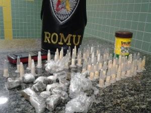 Jovem caiu na tentativa de fuga e cabou detido (Foto: Divulgação/Guarda Civil Metropolitana)