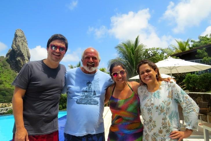Eduardo Macedo , Zé Maria , Mônica Agra e Andreia Alves