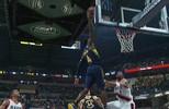 Victor Oladipo do Indiana Pacers fez a melhor enterrada da noite da NBA