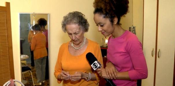 Profissão Repórter mostra a rotina de quem envelhece  (Foto: Reprodução/ Rede Globo)
