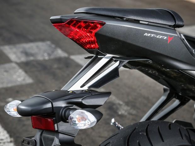 Yamaha MT-07 (Foto: Renato Durães / G1)