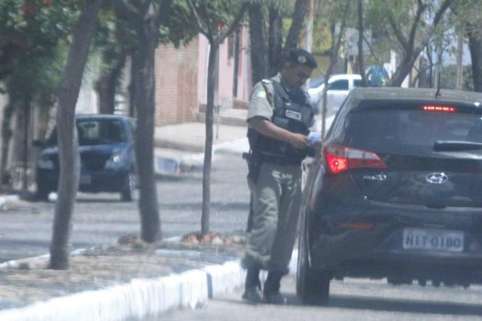 Elivaldo Morais, treinador do Tiradentes-PI (Foto: Divulgação/Polícia Civil )