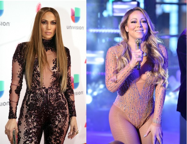 Jennifer Lopez e Mariah Carey (Foto: Getty Images)