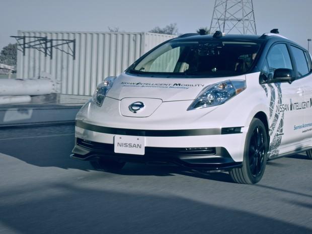 Nissan Leaf receberá tecnologia autônoma para testes no Japão (Foto: Divulgação)