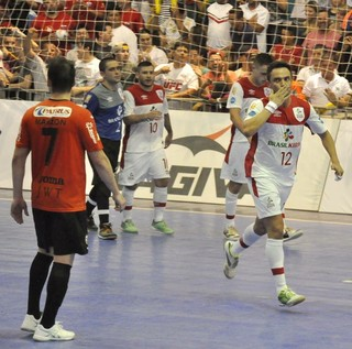 Falcão, Sorocaba x Carlos Barbosa, Sorocaba, Futsal, Carlos Barbosa, LNF (Foto: Danilo Camargo / Futsal Brasil Kirin)