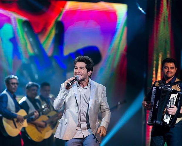 Daniel emociona o público presente na Final do The Voice Brasil (Foto: Isabella Pinheiro/Gshow)