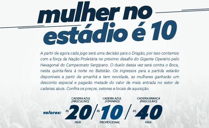 Ingressos para Confiança x Boca Júnior (Foto: Divulgação/ADC)
