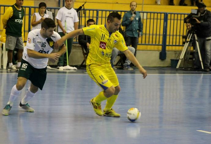 Assoeva São José Liga Nacional de Futsal (Foto: Quarttus Marketing/Divulgação)