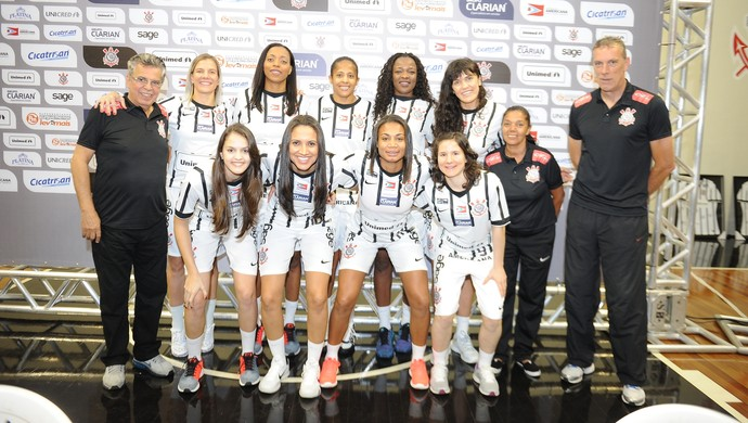 Corinthians/Americana basquete feminino (Foto: Divulgação / Corinthians/Americana)
