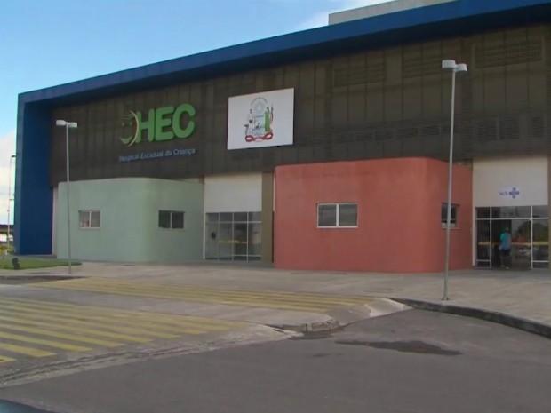 Jeanderson está internado desde o acidente no Hospital Estadual da Criança, em Feira de Santana (Foto: Reprodução/TV Subaé)