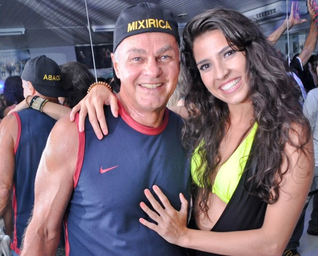 Kadu Moliterno e Dani De Lova estiveram novamente juntos na pista (Foto: Anderson Lima)