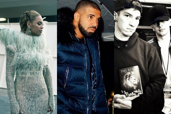 Vencedores do Grammy pela popularidade no Instagram (Foto: Reprodução Instagram)