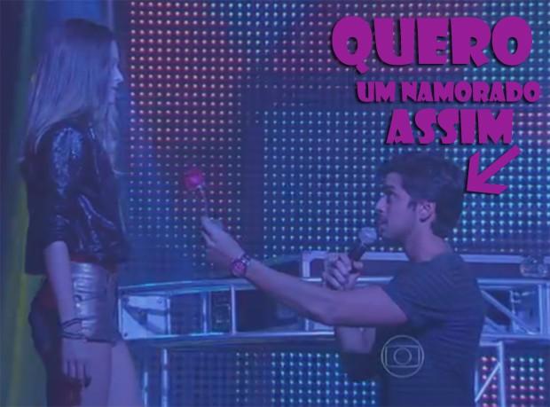 Quero um namorado assim! (Foto: Malhação / TV Globo)