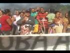 Protesto é realizado e interdita trecho da BR-262 em Campo Florido