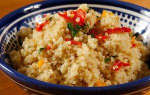 Risoto de quinoa com limão-siciliano