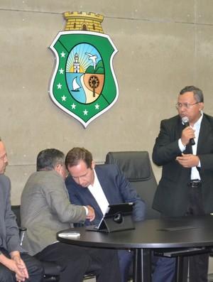 Gilson, Paiva, Sesporte (Foto: Sesporte/Divulgação)