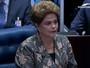 Dilma discursa no julgamento final do processo de impeachment no Senado