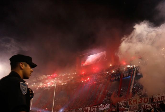 torcida River Plate (Foto: Agência Reutes)