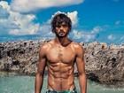 Marlon Teixeira revela seus segredos para manter o corpo sarado a revista