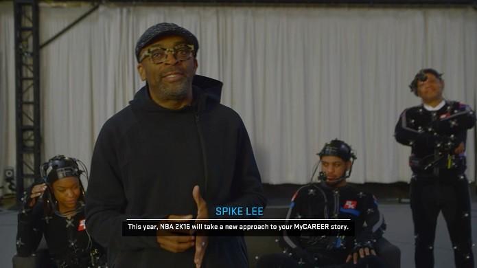 Spike Lee fez roteiro do modo carreira do novo NBA(Foto: Reprodução/Thiago Barros)