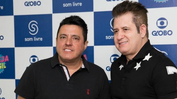Dupla Bruno & Marrone embala a noite do dia 16 na Globo (Foto: Divulgação/ Globo)