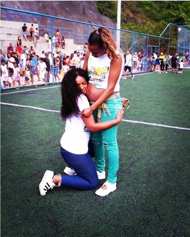 Cris Vianna e Roberta Rodrigues (Foto: Reprodução/Instagram)