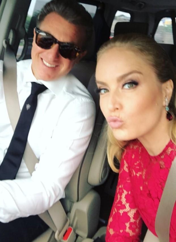 Lucianoi Huck e Angélica (Foto: Reprodução/Instagram)