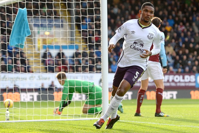 Etoo, Burnley x Everton (Foto: Getty Images)