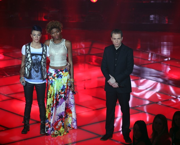 Kesia Estacio e Maria Christina (Foto: The Voice Brasil/TV Globo)