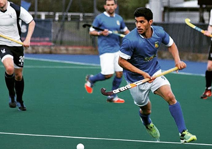 Stéphane Vehrlé-Smith, brasileiro/britânico, jogador da seleção brasileira de hóquei sobre a grama (Foto: Reprodução / Instagram)