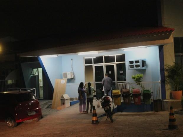 Maternidade Balbina Mestrinho já estava com o fornecimento de energia reestabelecido, por volta das 18h30, segundo a Susam (Foto: Marcos Dantas/G1 AM)