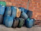 Polícia apreende cerca de dois mil litros de combustível ilegal