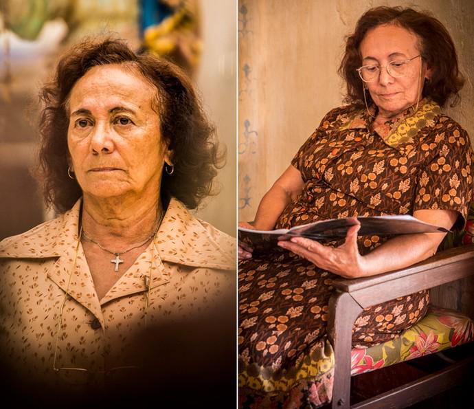 Ao mesmo tempo que impõe sua força como matriarca, Piedade é sensível aos seus instintos (Foto: João Miguel Júnior/ Globo)