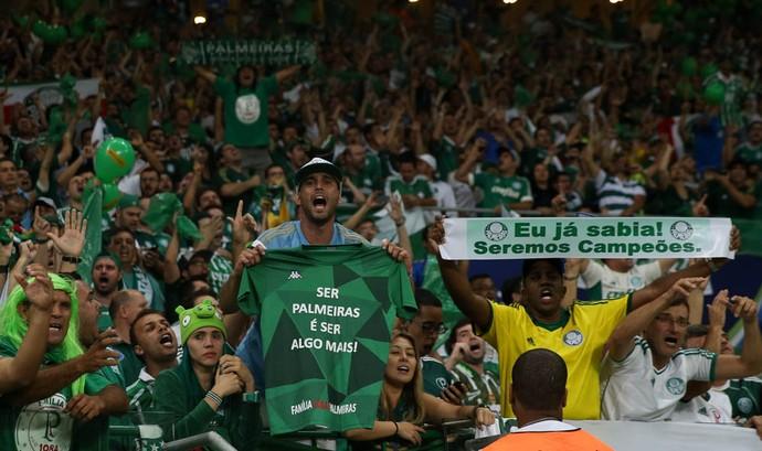 Torcida Palmeiras (Foto: Cesar Greco / Ag. Palmeiras)